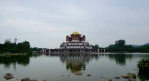 Palácio dos Cinco-sinetes de Ling Shan Imagens de Stock Royalty Free