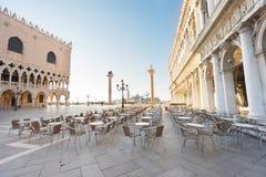 Palácio dos doges, Veneza, Itália imagem de stock