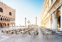 Palácio dos doges, Veneza, Itália foto de stock