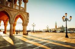 Palácio dos doges, Veneza, Itália fotografia de stock