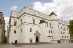 Palácio dos duques grandes em Vilnius, Lituânia foto de stock royalty free