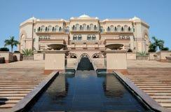 Palácio dos emirados em Abu Dhabi Fotos de Stock Royalty Free