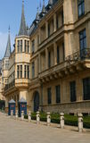 Palácio dos Grande-Duques, Luxembourg Imagens de Stock Royalty Free