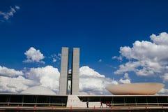 Palácio dos Poderes in Brasilia. Building by Oscar Niemeyer royalty free stock image