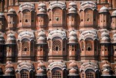 Palácio dos ventos, India Imagem de Stock