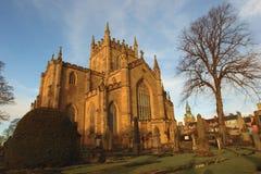 Palácio e abadia de Dunfermline imagens de stock royalty free