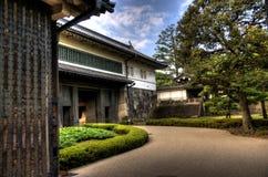 Palácio e jardim de Imperior imagens de stock