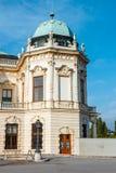 Palácio e jardim do Belvedere em Viena imagem de stock royalty free