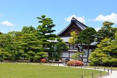 Palácio e jardim japoneses Fotografia de Stock Royalty Free