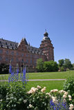 Palácio e jardins de Johannisburg Fotografia de Stock Royalty Free