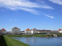 Palácio elegante de Nymphenburg Foto de Stock