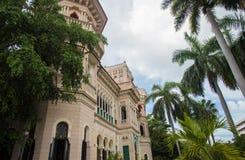 Palácio em Cienfuegos Imagens de Stock Royalty Free