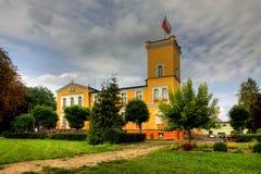 Palácio em Debowa Leka (DÄbowa ÅÄka) Fotografia de Stock
