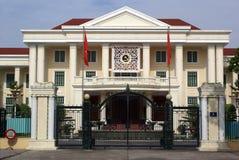 Palácio em Hanoi imagens de stock