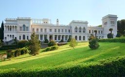 Palácio em Livadiya, Crimeia de Livadia, Ucrânia. Fotografia de Stock Royalty Free