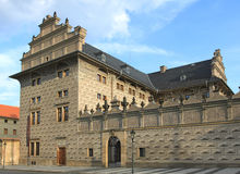 Palácio em Praga Fotografia de Stock Royalty Free