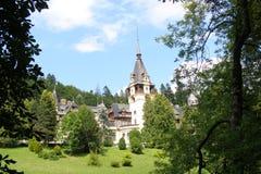 Palácio em Romania imagens de stock