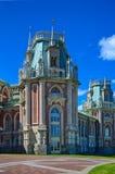 Palácio em Tsaritsino fotografia de stock