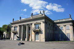 Palácio em Varsóvia Foto de Stock Royalty Free