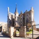 Palácio episcopal de Astorga Imagem de Stock Royalty Free