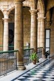 Palácio espanhol bonito em Havana Imagens de Stock Royalty Free