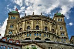 Palácio federal HDR Fotos de Stock Royalty Free