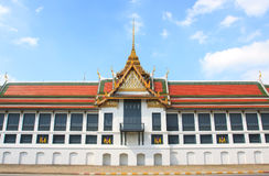 Palácio grande Banguecoque Tailândia Fotos de Stock