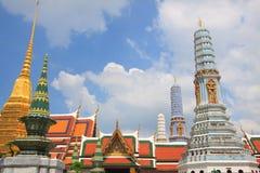 Palácio grande Banguecoque Tailândia Foto de Stock Royalty Free