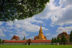 Palácio grande Banguecoque Tailândia Imagem de Stock Royalty Free
