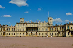 Palácio grande de Gatchina Foto de Stock Royalty Free