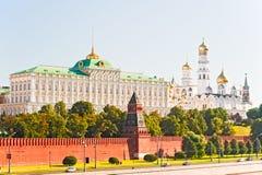 Palácio grande de Kremlin e o Ivan a grande Bell. Fotos de Stock