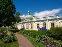 Palácio grande de Menshikov fotos de stock royalty free