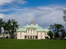 Palácio grande de Menshikov foto de stock royalty free