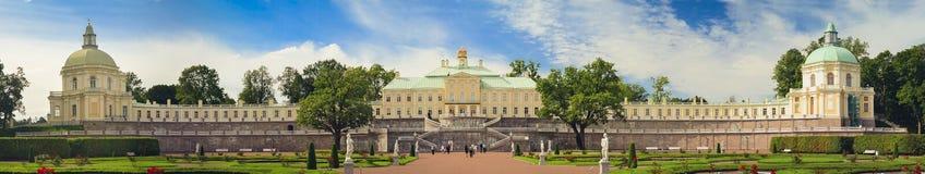 Palácio grande de Menshikov em Oranienbaum Imagem de Stock Royalty Free