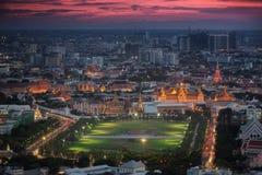 Palácio grande do kaew do pra de Wat Imagem de Stock Royalty Free