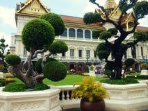 Palácio grande em Banguecoque foto de stock