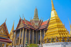 Palácio grande em Banguecoque Fotos de Stock Royalty Free