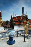 Palácio grande em Banguecoque, Tailândia Fotografia de Stock Royalty Free