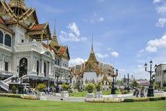 Palácio grande em Banguecoque, Tailândia Foto de Stock Royalty Free