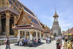 Palácio grande em Banguecoque, Tailândia Fotografia de Stock