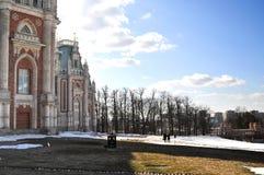 Palácio grande em Tsaritsyno Fotografia de Stock Royalty Free