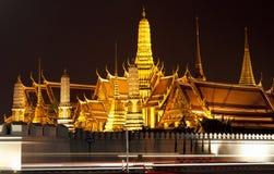Palácio grande na noite Imagem de Stock Royalty Free