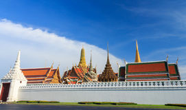Palácio grande real, Tailândia Foto de Stock Royalty Free