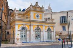 Palácio histórico andria Puglia Italy foto de stock royalty free