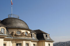 Palácio histórico da nobreza Fotos de Stock Royalty Free