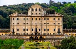 Palácio histórico da nobreza em Frascati - marcos da província da casa de campo Aldobrandini - da Roma em Lazio - Itália fotografia de stock