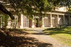 Palácio histórico do pátio em Italia Imagem de Stock Royalty Free
