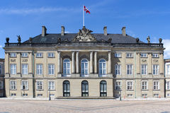 Palácio histórico em Copenhaga, Dinamarca Imagens de Stock