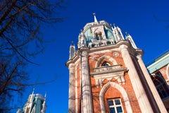 Palácio histórico velho em Moscovo foto de stock