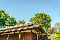 Palácio imperial bonito no Tóquio, japão foto de stock